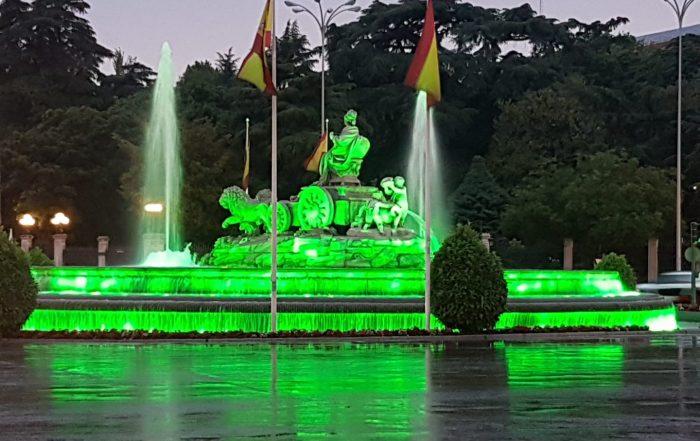 Fuente Cibeles, Madrid. 2 de junio de2018